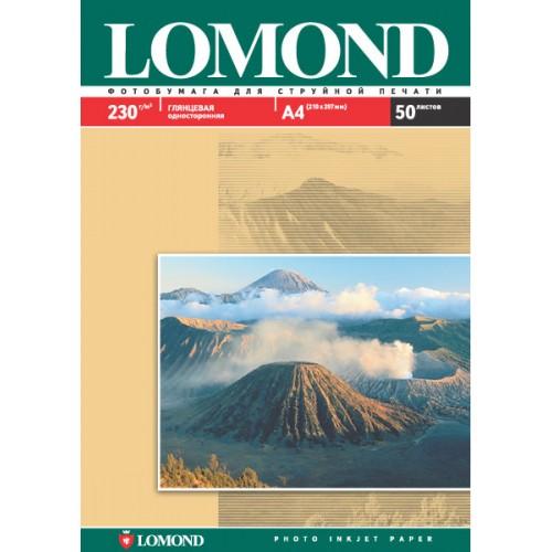 Бумага Lomond INC JET для струйной печати (230гр/А3/50л/ГЛ)  одност.