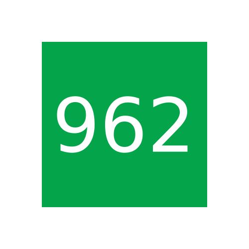 Краска Marabu Libraprint LIP 962, травянисто-зеленый