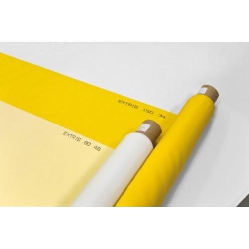 Сетка PES HT 90/40 PW, желтая, ширина 150см