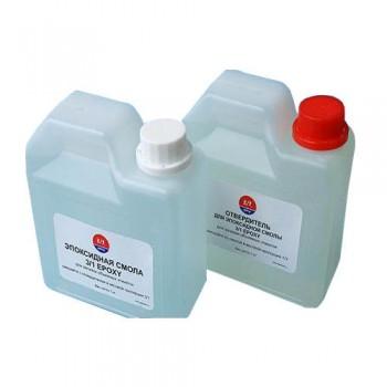Смола эпоксидная твёрдая,Type1 (Epoxy) и отвердитель Type1 (Hardener) 3/1 (3 смолы+1 катализатор) ко