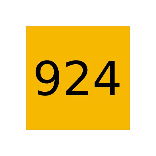 Marabu краска Ultrastar UVS, 924  Medium Yellow, Средне-Желтый