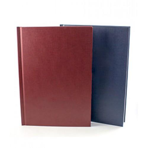 Обложки МеталБинд картон А4 (304х212 мм) бордо  (10пар)