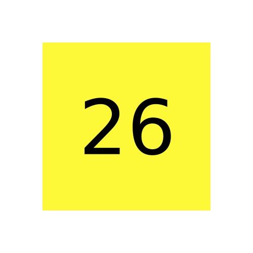 Краска Marabu Marastar SR 026, Светло-желтый (Light Yellow)