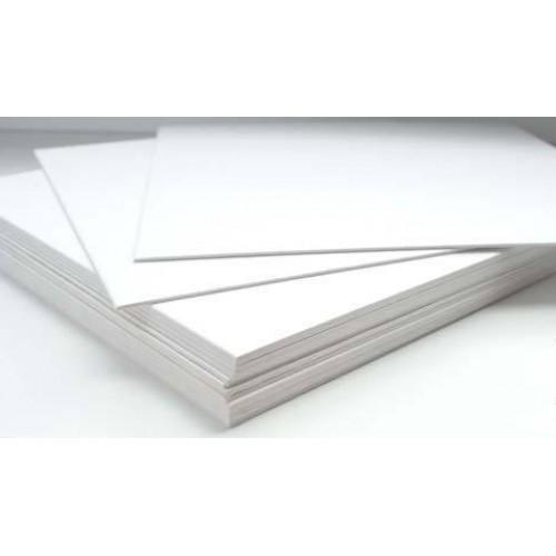 Картон белый 30х60см для сублимации