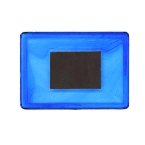 Заготовка акрилового магнита 52х77 мм цветной