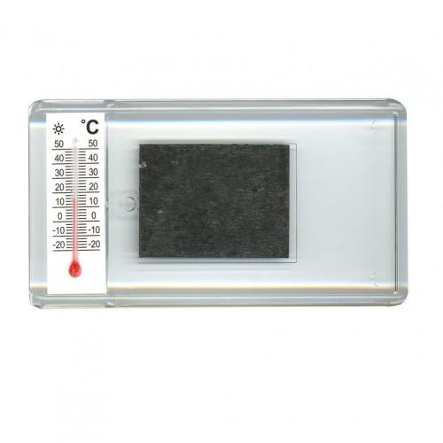 Заготовка акрилового магнита 52х96 мм с термометром