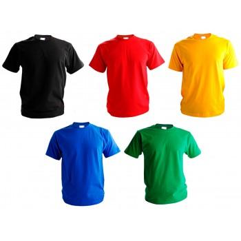 Футболка хлопковая р.40, детская, цвет в ассортименте