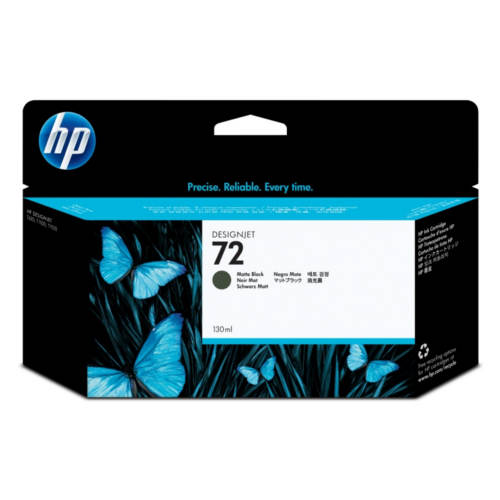 Картридж для HP Designjet T1100/T610 №72 Matte Black (Черный матовый) 130мл