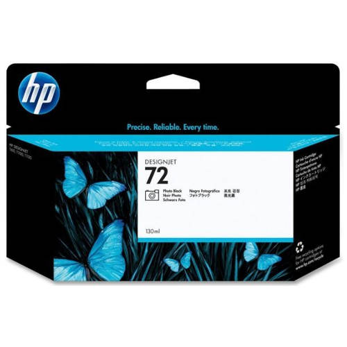 Картридж для HP Designjet T1100/T610 №72 Photo Black (Черный фото) 130мл
