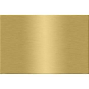 "Металлическая пластина  для сублимации, А4 (20х30) ""золото"""