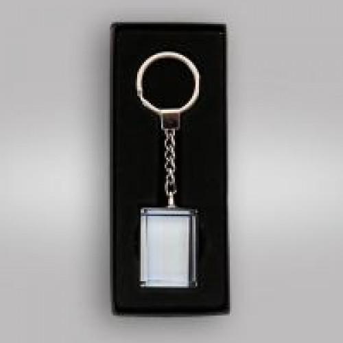 Брелок-кристалл для сублимации прямоугольник