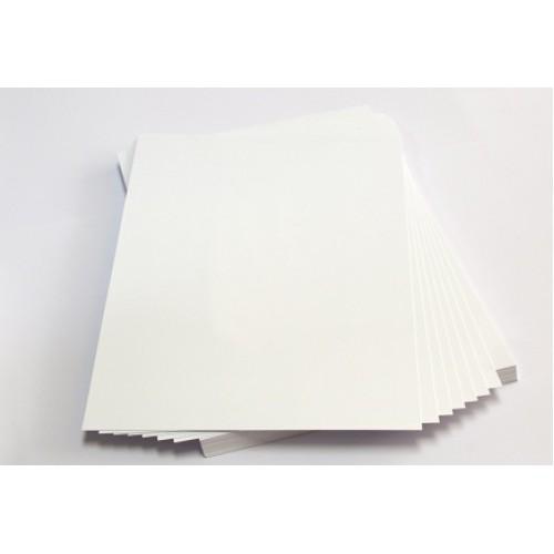 Пластик белый для струйной печати А4 300мкн (50 листов)
