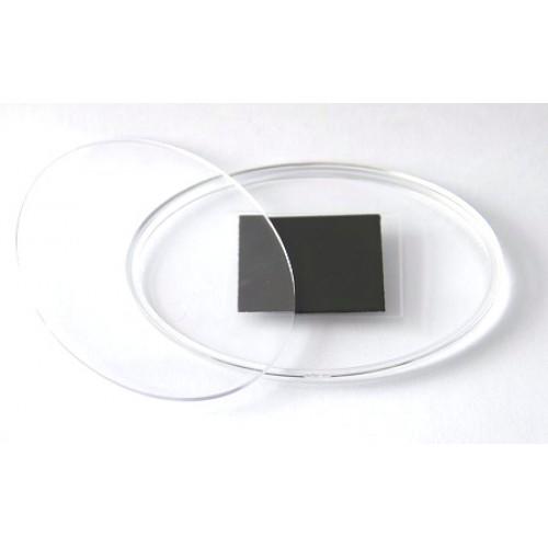 Заготовка акрилового магнита 85х63 Овал