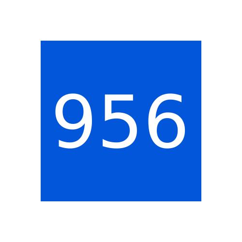 Краска Marabu Ultraform UVFM 956, Ярко-синяя, 1кг