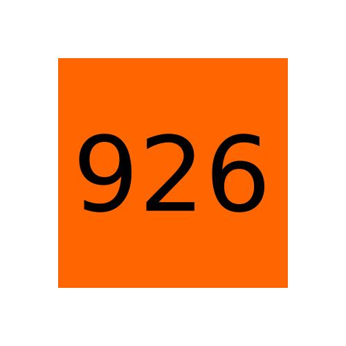 Краска Marabu Tampastar TPR 926 Orange, оранжевый