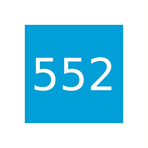 Краска Marabu Marastar SR 552, Прозрачный синий