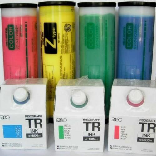 RISO Краска  FR/GR/RN/RA/RC/RP синяя 1л