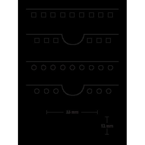 Биговально-перфорационный инструмент CITO для Cyklos GPM 450
