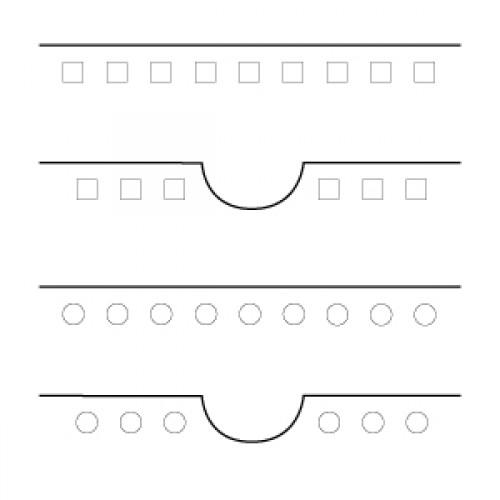 Перфорационный тул 3:1 круглые отверстия для GPM-450 SPEED