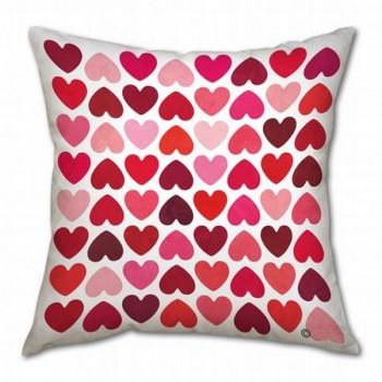 Подушка для сублимации 40х40 двухсторонняя (белая/цветная)