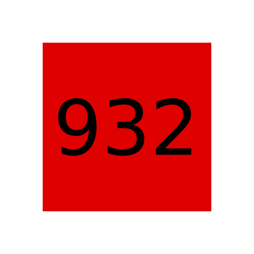 Краска Marabu Tampastar TPR 932 Scarlet Red, красный
