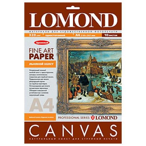Арт бумага Lomond  Грубая льняная фактура, архивная (230гр/А3/20л)
