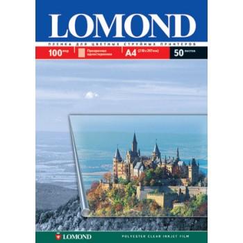 Пленка Lomond для цветных струйных принтеров А4, одностор, 50л. (0708415)