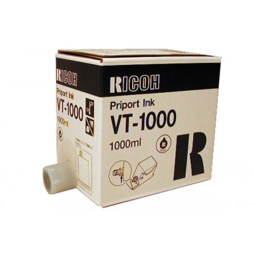 Краска RICOH VT-1000 черная, (CPI-4), 1000мл (817140/817144)