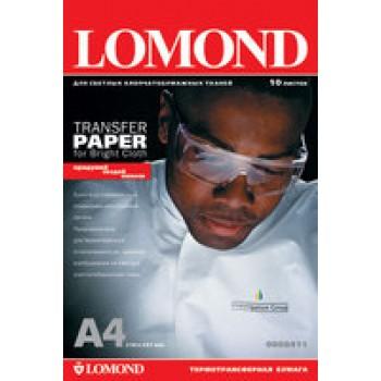 Бумага для струйного принтера для светлых тканей Lomond (А4/50л) 0808415