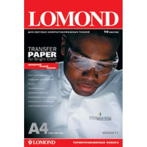 Бумага для струйного принтера для светлых тканей Lomond (А4/50л)