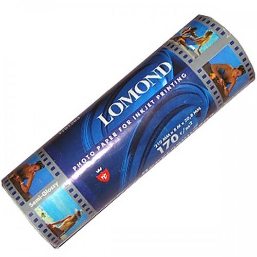 Бумага Lomond рулонная суперглянец 170 г/м2 (210ммХ8мх50, 8мм )