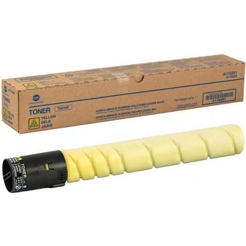 Тонер-картридж TN-221Y (желтый) для Konica Minolta bizhub C227