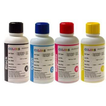 Чернила текстильные  4*500мл цвета CMYK Colors