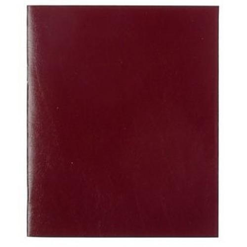 Бумвинил на бумажной основе, бордовый