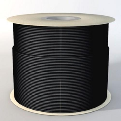 Метал. пружина d 1/2 (12, 7 мм) 3:1 черная, бобина (26000)