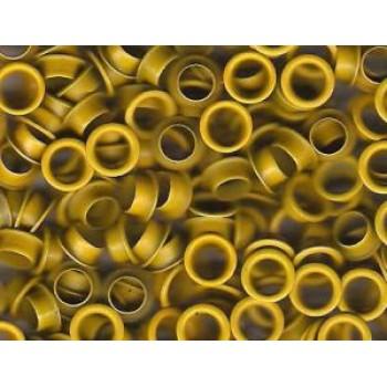 Люверсы d 4 мм, желтые (1000)