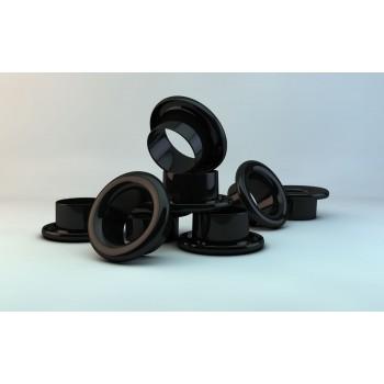 Люверсы d 4 мм, черные (1000)
