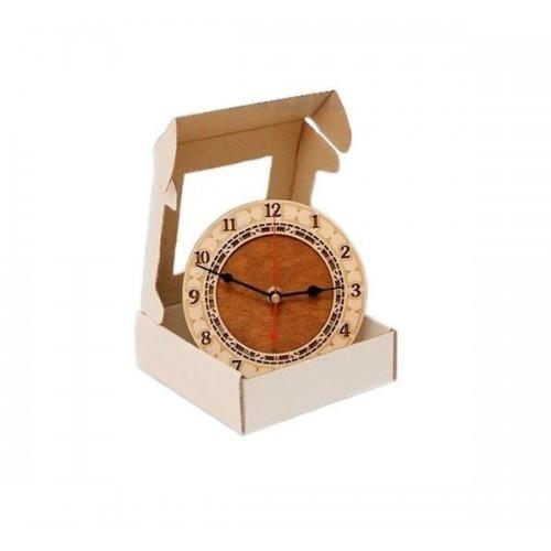 Часы деревянные 150мм (вставка 95мм)