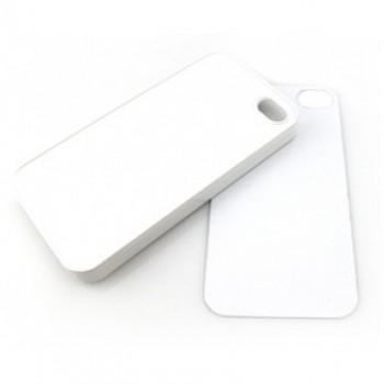 Чехол для iPhone 4/4S пластиковый белый