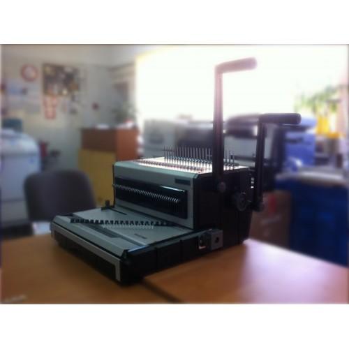 Брошюровщик комбинированный Bulros YB-ST2960 (по пластиковой и металлической пружине) Б/У