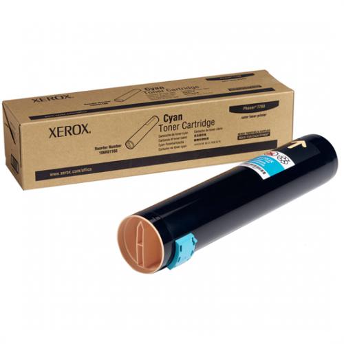 Тонер-картридж Xerox 106R01160 Cyan, Голубой, для Xerox Phaser 7760