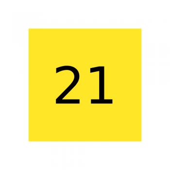 Marabu краска Glasfarbe GL-021 Medium Yellow, средний желтый