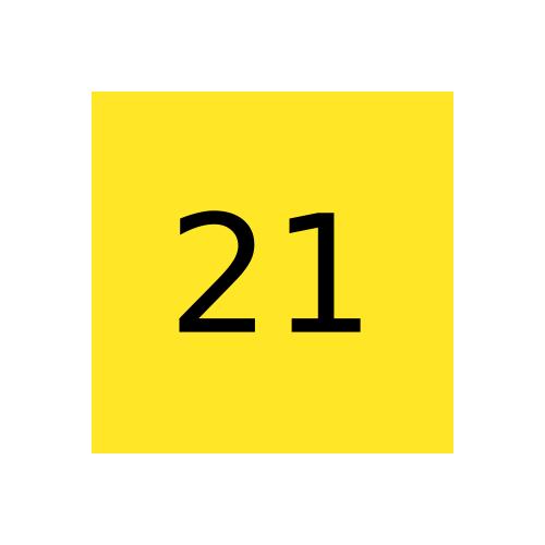 Краска Marabu Glasfarbe GL 021, средний желтый