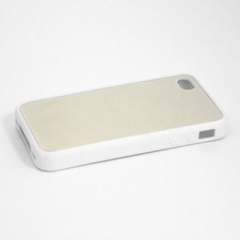 Чехол для iPhone 5, резиновый белый