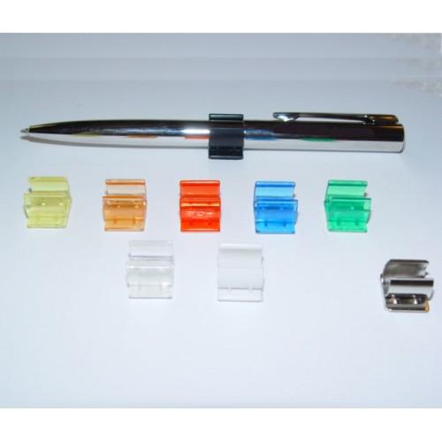 Держатель пластиковый  для ручек, прозрачный