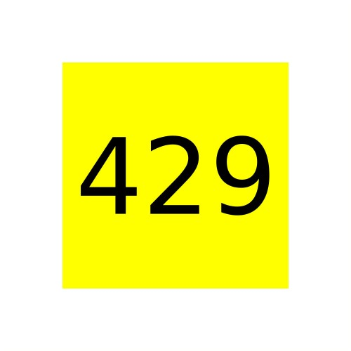 Краска Marabu Glasfarbe GL 429 Process Yellow, растровый желтый