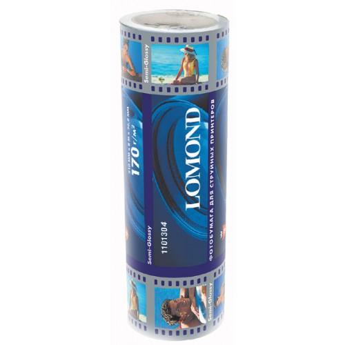Бумага Lomond рулонная полуглянец 170 г/м2 (329х8х50, 8)