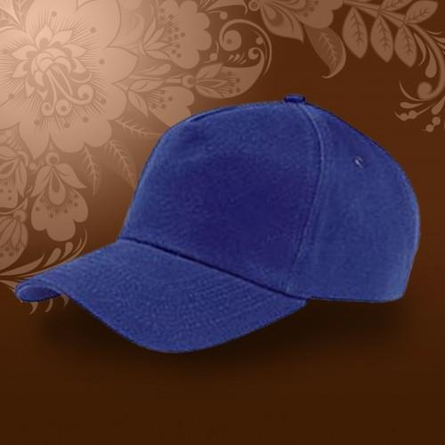Бейсболка на липучке, темно-синий