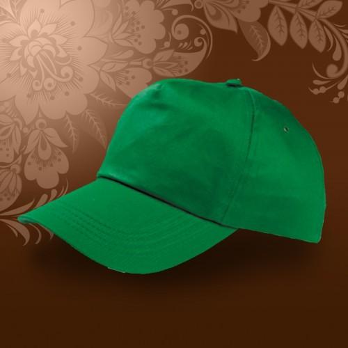 Бейсболка велюр, Зеленый