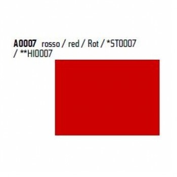 Пленка P.S.Film A0007 красная, 1м, 0.50м,